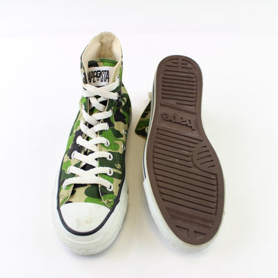 Bape ABC Green Camo Apestas high - SaruGeneral
