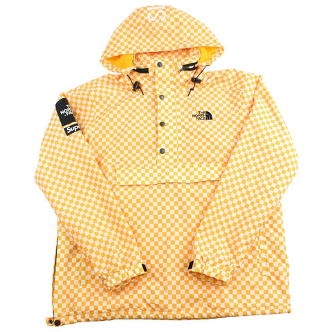 Supreme x TNF the north face checkered yellow 2012 - SaruGeneral