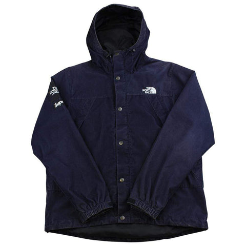 Supreme x TNF the north face corduroy Navy - SaruGeneral