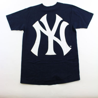 Supreme x New York Yankees Box Logo Tee Navy - SaruGeneral