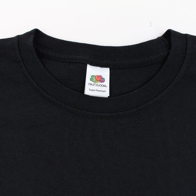 Fragment x Fruit of the Loom Tee Black - SaruGeneral