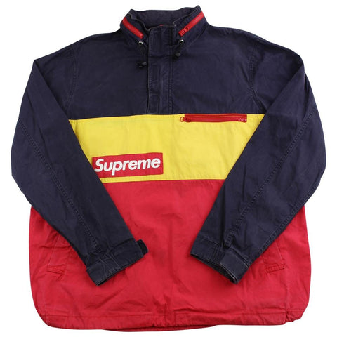supreme f1 pullover yellow red 2014 - SaruGeneral