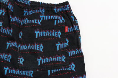 Supreme x Thrasher Logo Shorts Black
