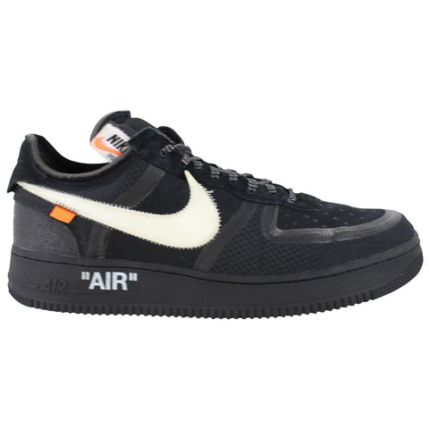 Nike OffWhite Airforce 1 Black - SaruGeneral