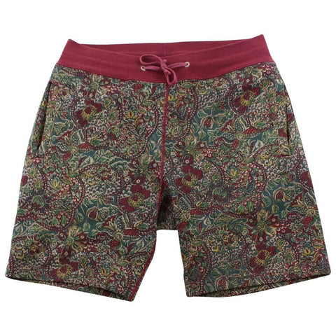 Supreme Red Paisley Shorts - SaruGeneral