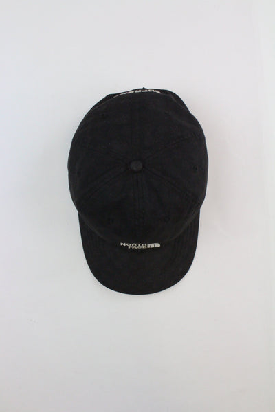 Supreme x TNF Black Checkered Cap - SaruGeneral
