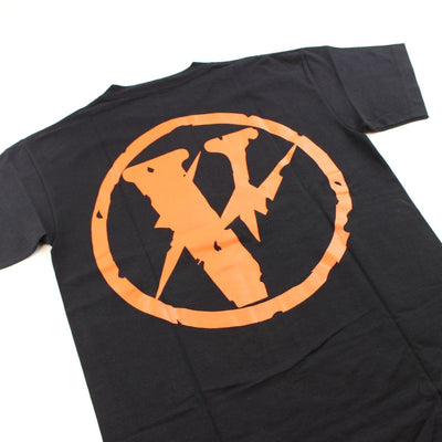 Vlone x Fragment Friends Logo Tee Black - SaruGeneral