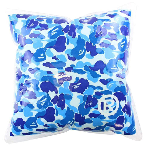 Bape Inflatable Blue Camo Pillow - SaruGeneral