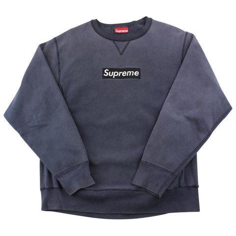 Supreme Black on Black Box Logo 1997 Crewneck - SaruGeneral
