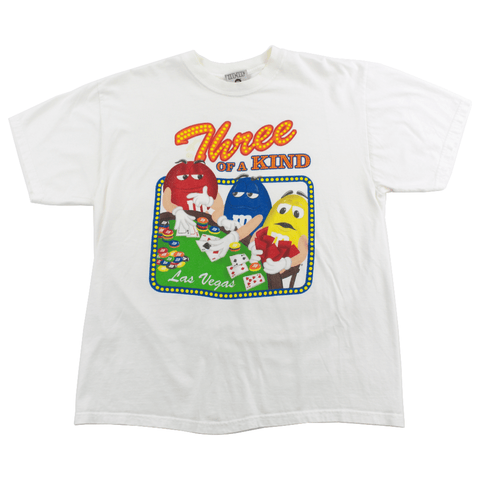 M&Ms Three Of A Kind Tee White