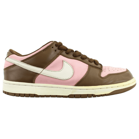 Nike x Stussy SB Dunk Low Pink Brown