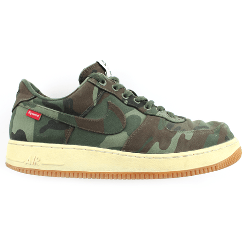 Nike x Supreme Woodland Camo Air Force 1s