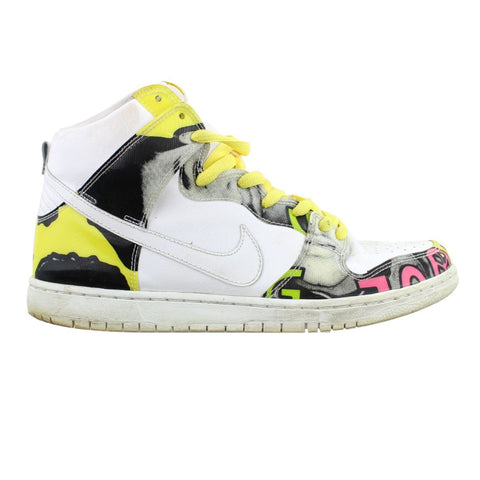 Nike Dunk SB High De La Soul White