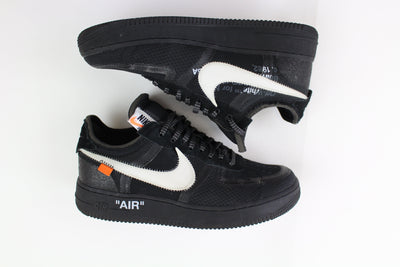 Nike x Off-White Air Force 1 Black White - SaruGeneral