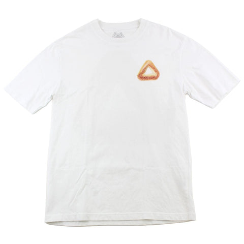 Palace Bagel Logo Tee White