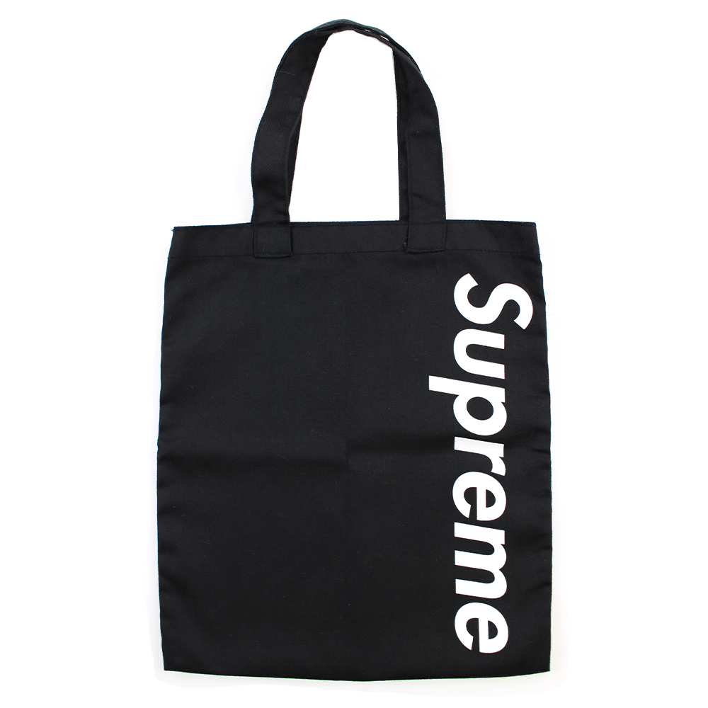 Supreme Exclusive Black Magazine Tote