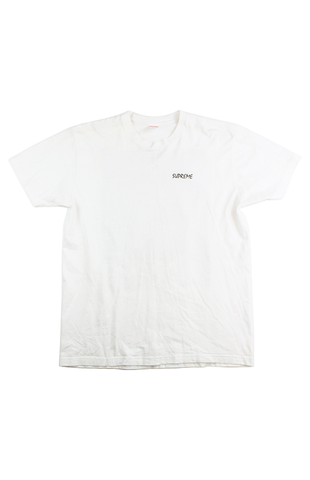 bf87cad7 Supreme Joan of Arc Tee White – SaruGeneral