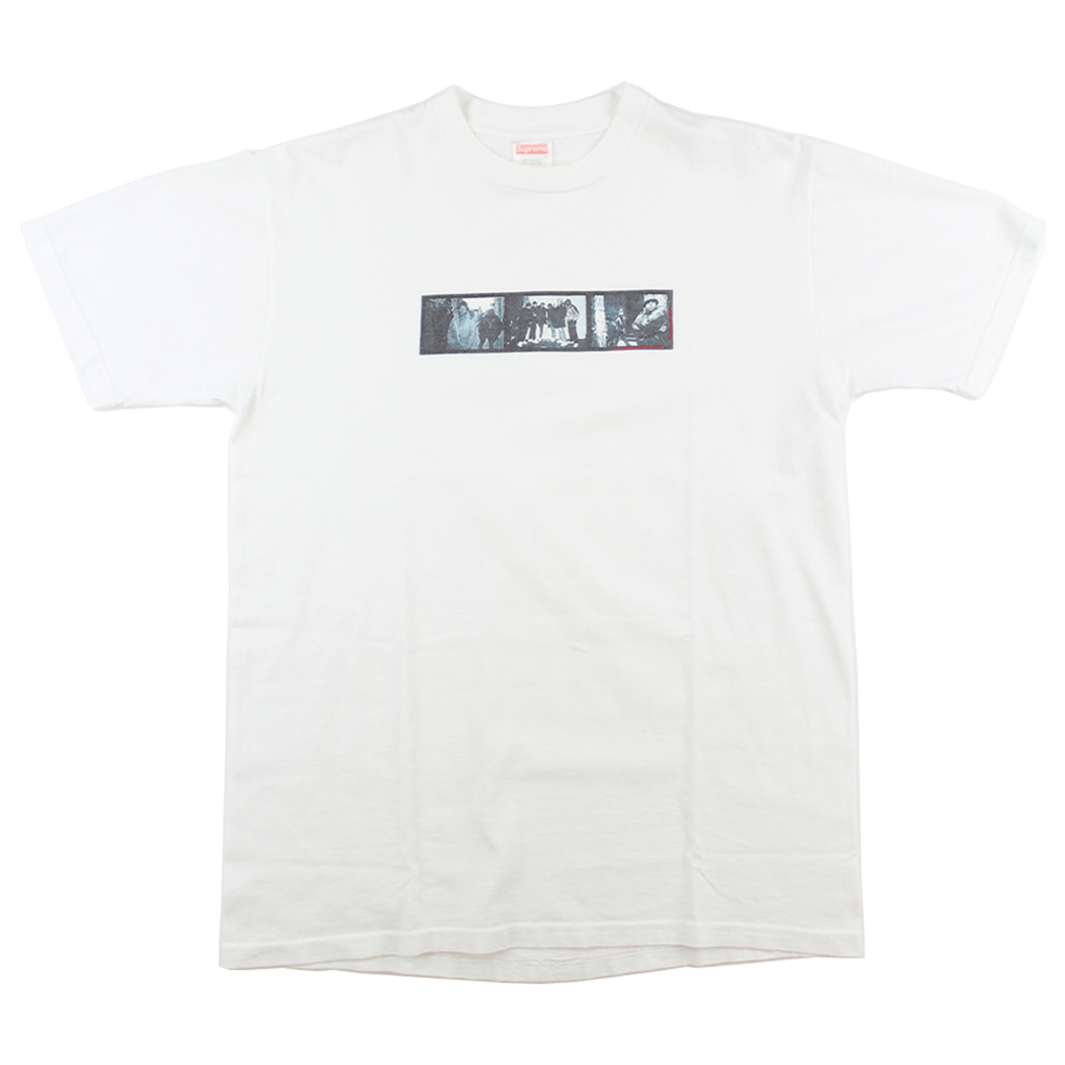 Supreme marco polo Safety Film Tee White - SaruGeneral
