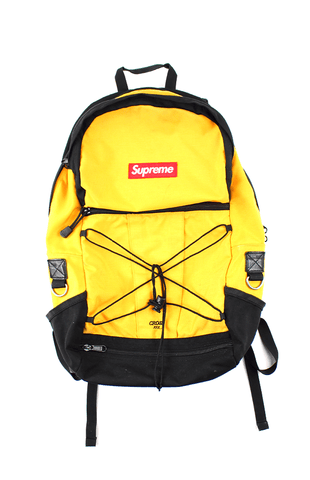 Supreme Backpack Yellow Cross xxx 2011 - SaruGeneral
