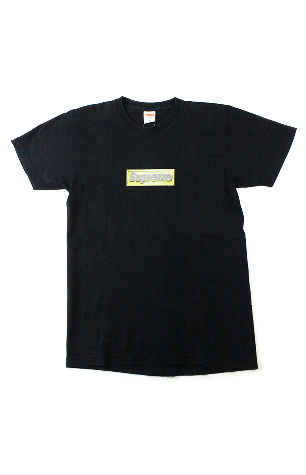 Supreme Bling Box Logo Tee Black - SaruGeneral