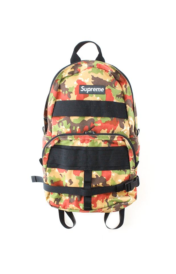 Supreme Swiss Camo Backpack 2003 - SaruGeneral