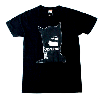 Supreme Catwoman Tee Black - SaruGeneral