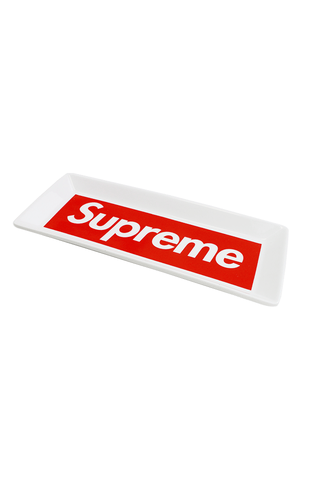 Supreme Ceramic Box Logo Ashtray - SaruGeneral