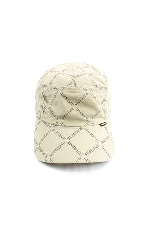 Supreme Gucci rendition 5panel cream - SaruGeneral