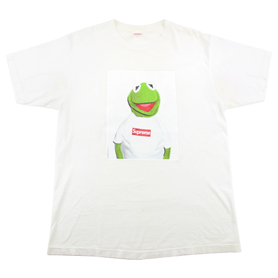 Supreme Kermit Photo Tee White - SaruGeneral