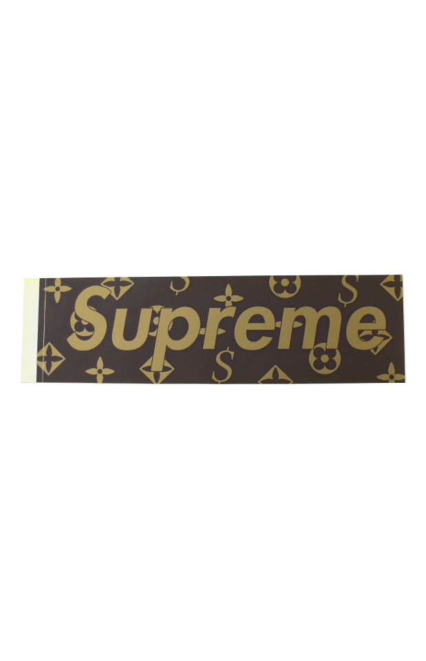 Supreme LV Box Logo Sticker - SaruGeneral