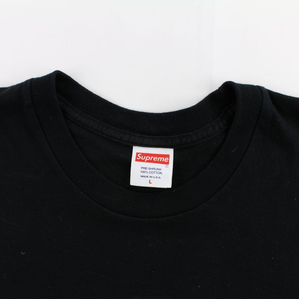 Supreme Life Sucks Die Tee Black - SaruGeneral