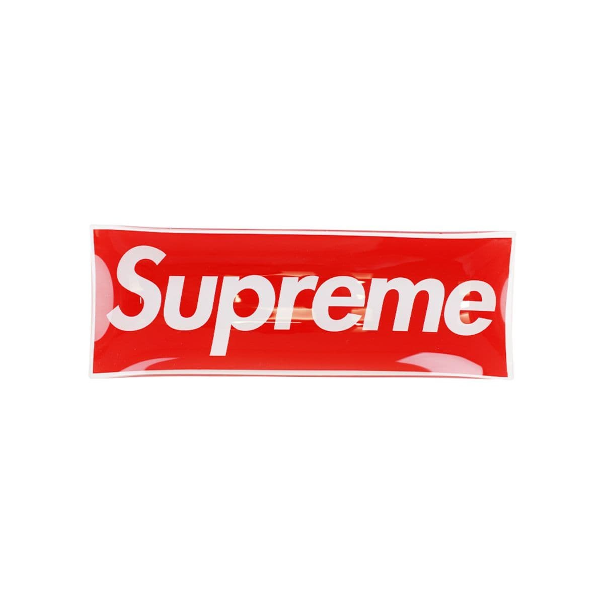 Supreme Logo Glass Tray