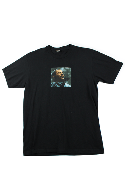 Supreme Marvin Gaye Photo Tee Black - SaruGeneral