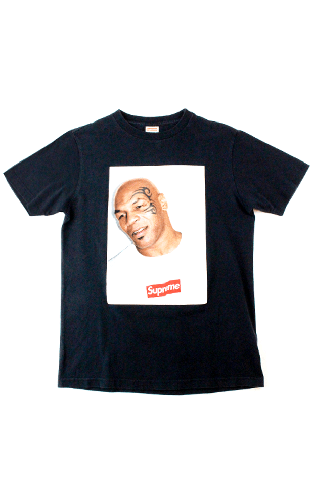 Supreme Mike Tyson Photo Tee Black - SaruGeneral