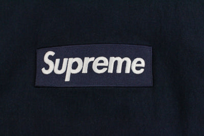 Supreme Navy Box Logo Crew