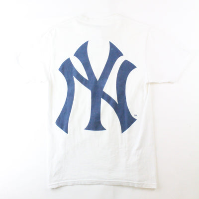 Supreme New York Yankess Box Logo Tee White - SaruGeneral
