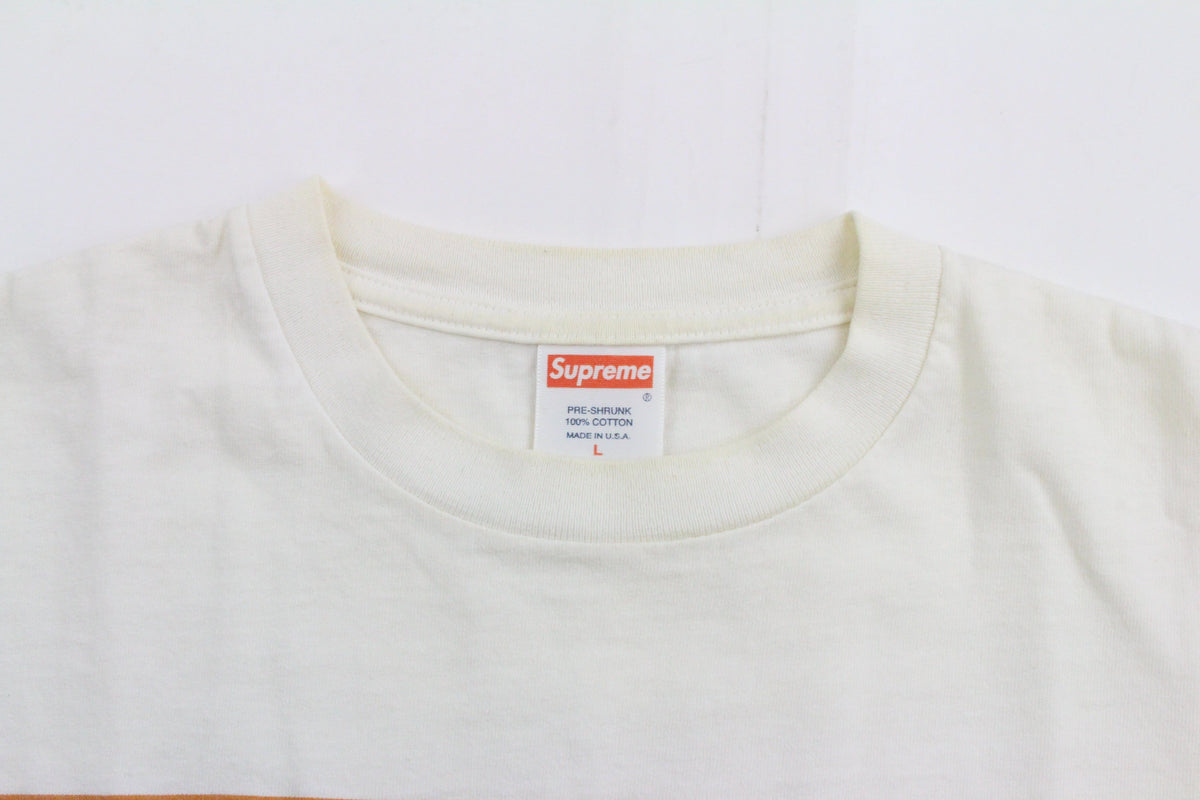 Supreme Quickie Tee White - SaruGeneral