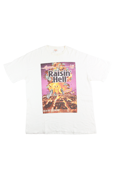 Supreme Raisin Hell Tee White - SaruGeneral