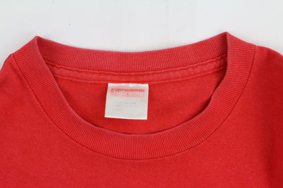 Supreme Red Box Logo Tee Red - SaruGeneral