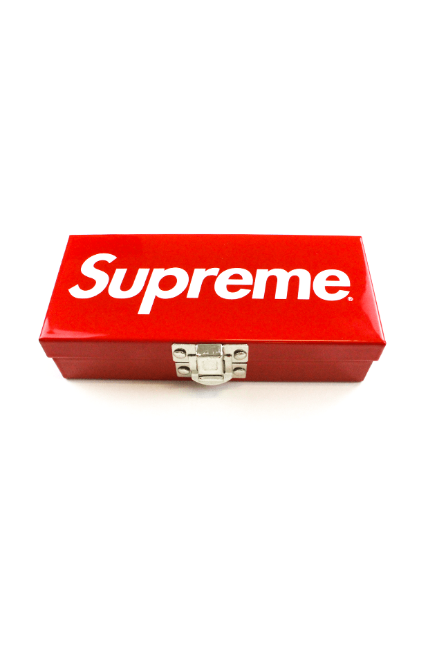 Supreme Red Logo Lock Box - SaruGeneral