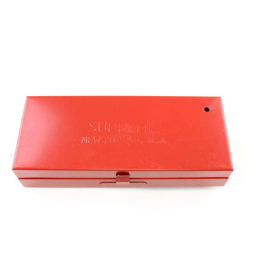 Supreme Small Red Metal Box - SaruGeneral