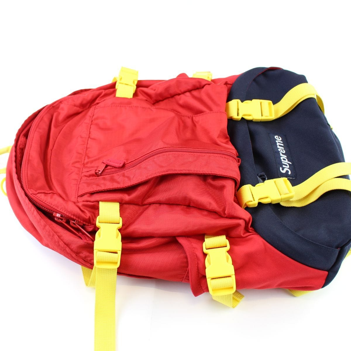 Supreme Red & Yellow Logo Backpack EL MARTILLO 2007 - SaruGeneral