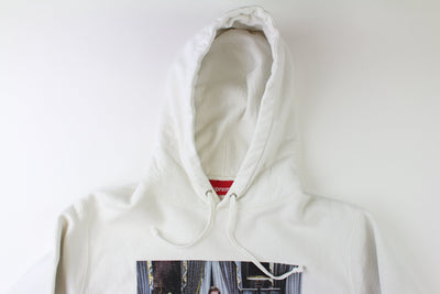 Supreme Scarface Picture Hoodie White - SaruGeneral