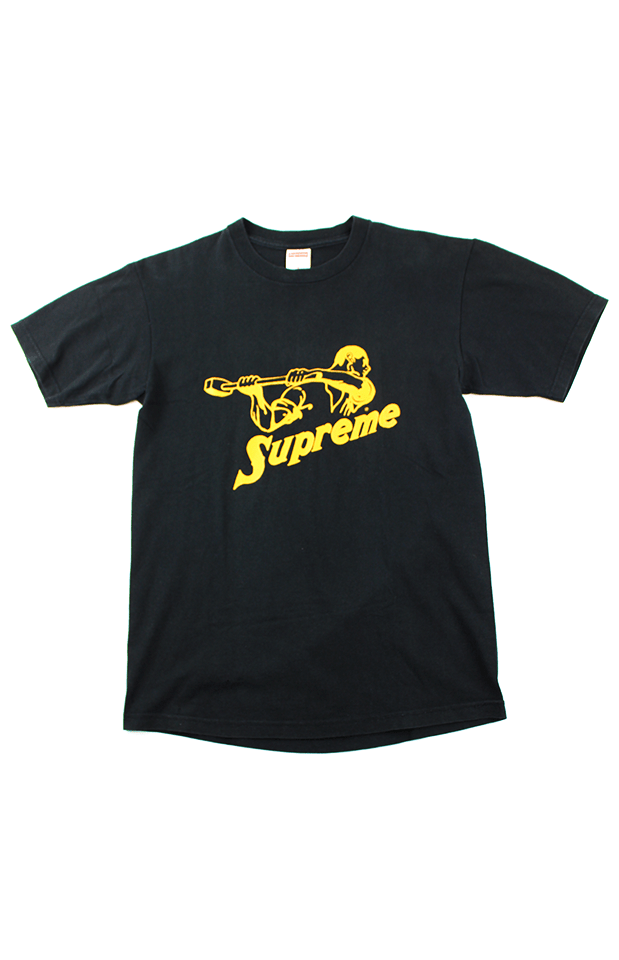Supreme Sledgehammer Tee Yellow Black - SaruGeneral