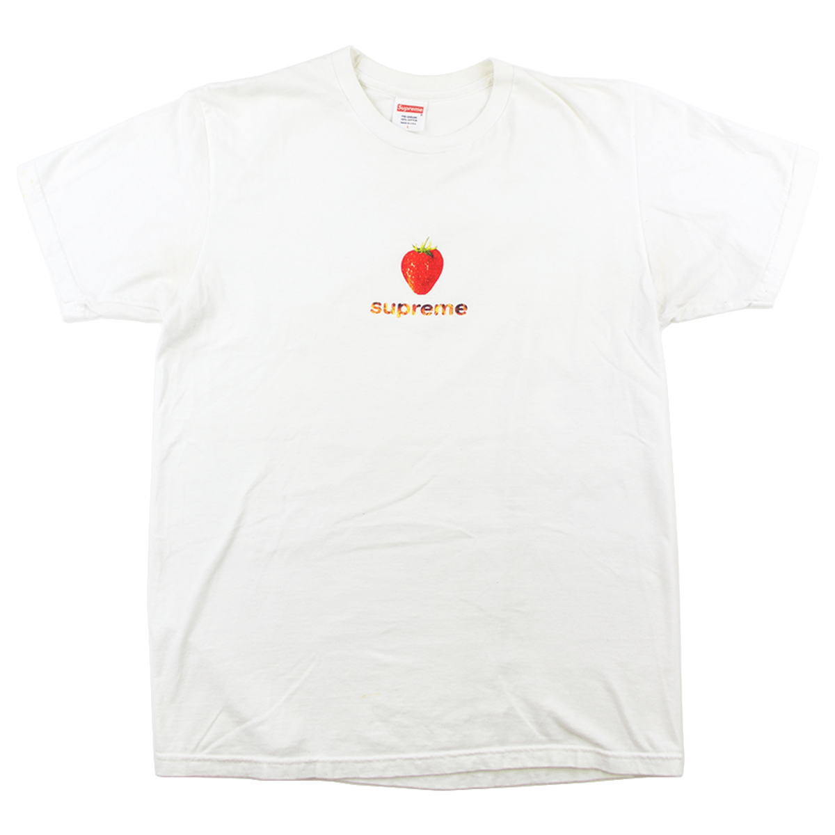 Supreme Strawberry Tee White - SaruGeneral