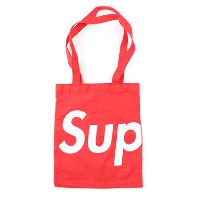 Supreme Tote Bag Red - SaruGeneral