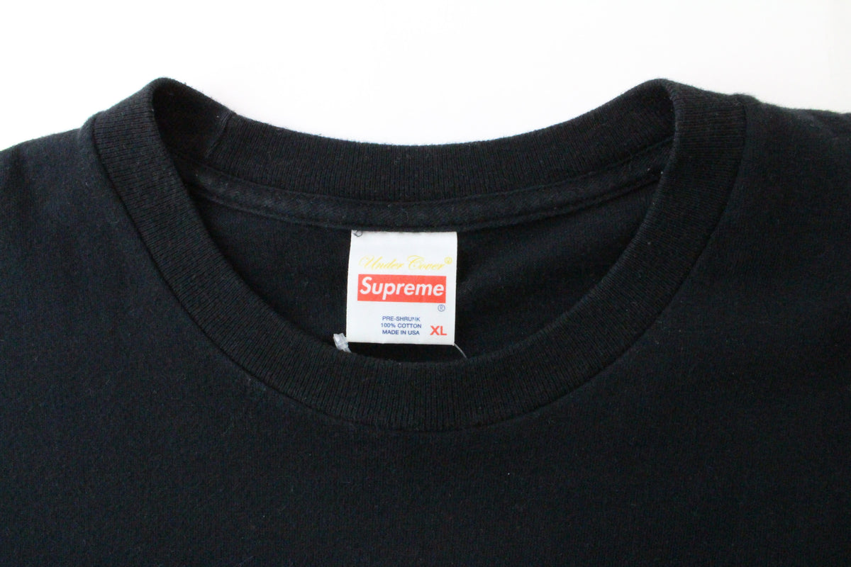 Supreme x Undercover Witch Box Logo Tee Black - SaruGeneral