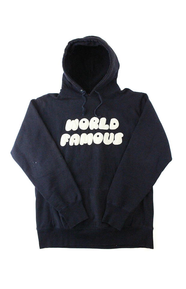 Supreme World Famous Hoodie Black - SaruGeneral
