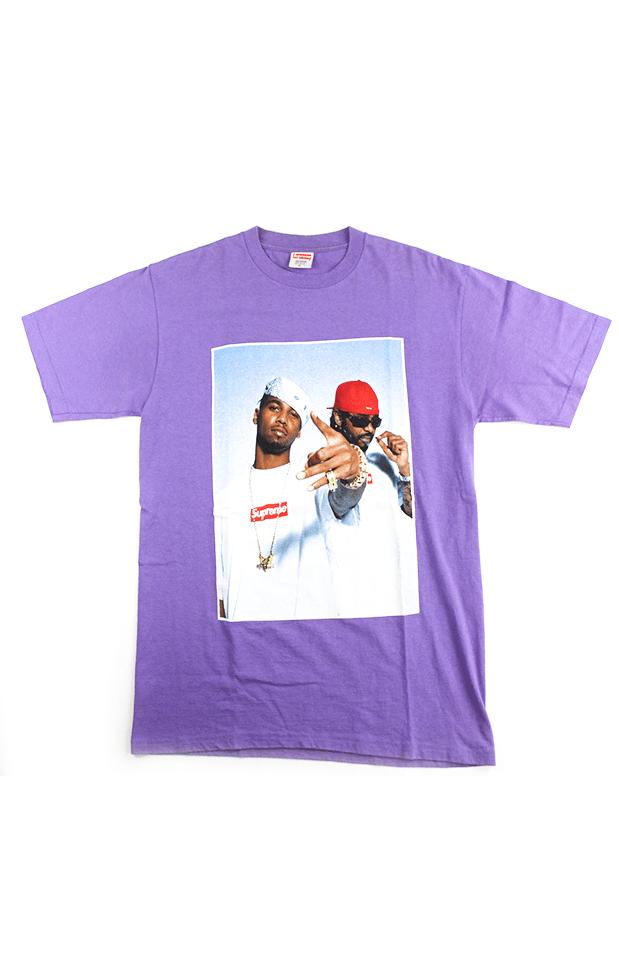 Supreme x Dipset Photo Tee Purple - SaruGeneral