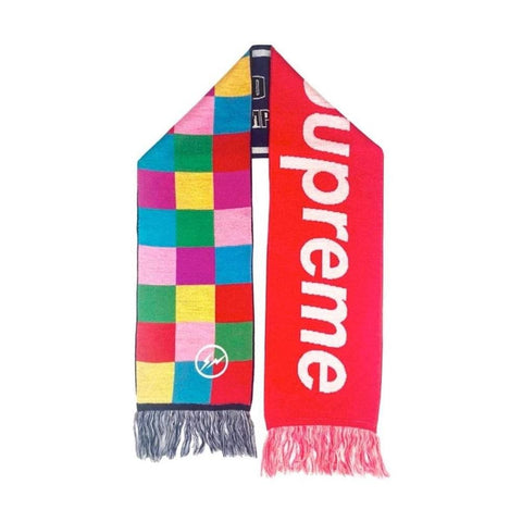 Supreme x Fragment Multi Patch Scarf - SaruGeneral